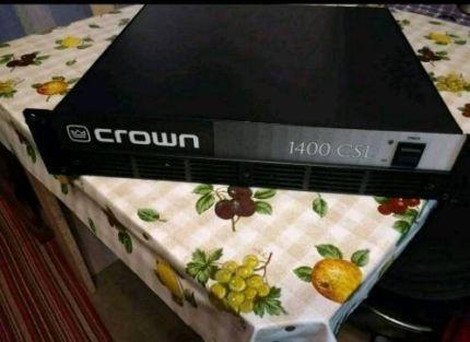 Продам усилитель Crown 1400 CSL U.S.A