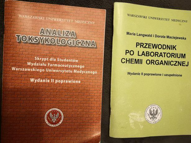 Skrypty WUM chemia organiczna analiza, toksykologia