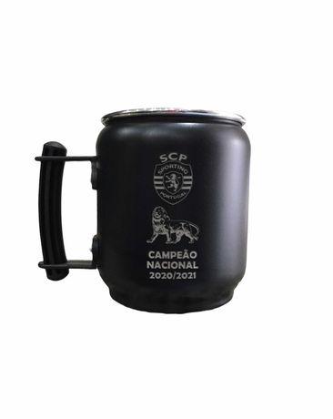 Caneca refrigerante alusiva SCP Campeão 2020/21