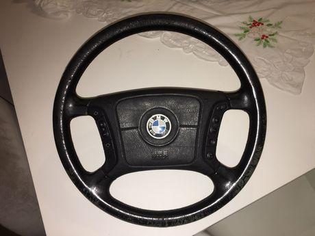 Volante BMW E39/E38/X5 com botões multifunções