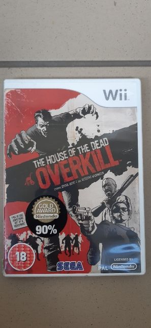 Nintendo Wii The house of the dead Overkill