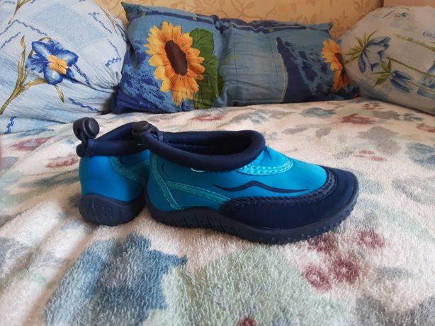 Аквашузы. Новые! Стелька 15 см. Обувь для пляжа, бассейна. Германия