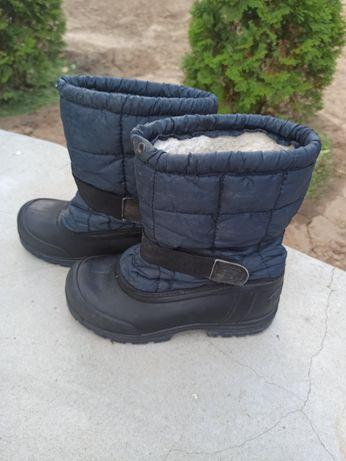 Зимово - осінні гумові чоботи 34 розмір