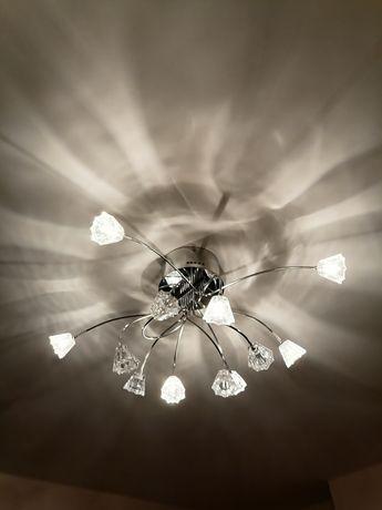 Lampa do salonu 230W,oświetlenie, lampa na ścianie, kryształ, żyrandol