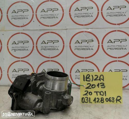 Borboleta de admissão VW Golf, Passat, AUDI A3, Golf 6, Seat Leon, Ibiza 2.0 tdi, ref 03L128063K.