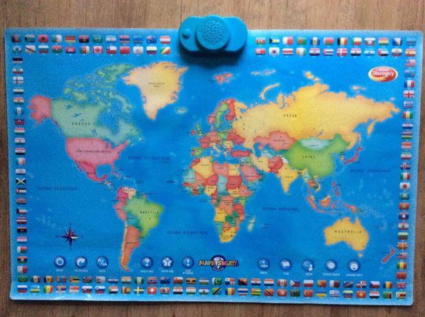 Mapa interaktywna świata