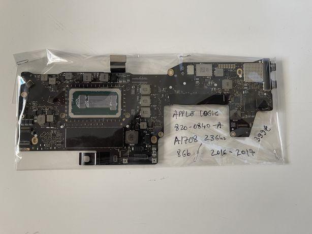 Apple logicboard A1708, 2016…17, 820.00840.A 2.3ghz 8gb - a funcionar