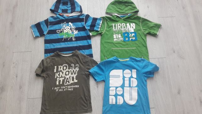 Bluzeczki na chłopca 122-128 marka Rebel