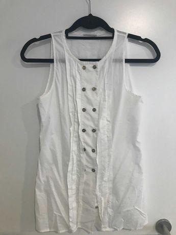 Camisa branca verão   Massimo Dutti   2 opções   S/M
