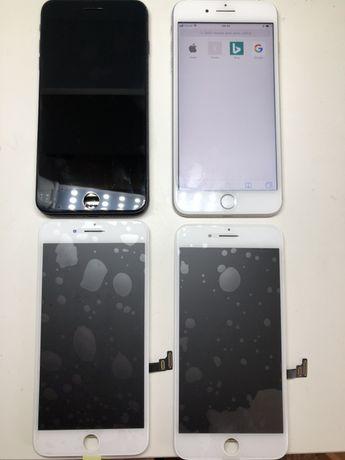 Дисплей экран iPhone 7  оригинал чёрный / белый оригинальный