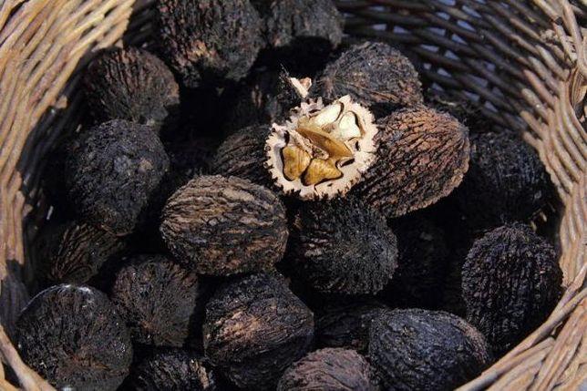 Чёрный орех - семена