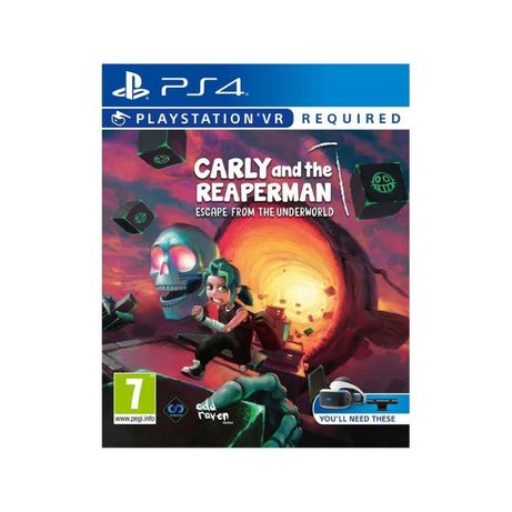Carly and the Reaperman: Escape from the Underworld PS4 VR Master Game