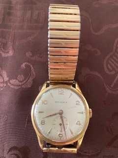 Relógio de pulso homem vintage  DOGMA ouro