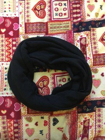Чорний хомут / шарф / хомутик / рукавички