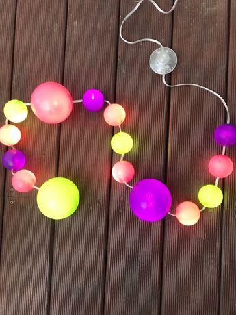 IKEA FINFIN Oświetlenie LED 15 kul 002.390.25
