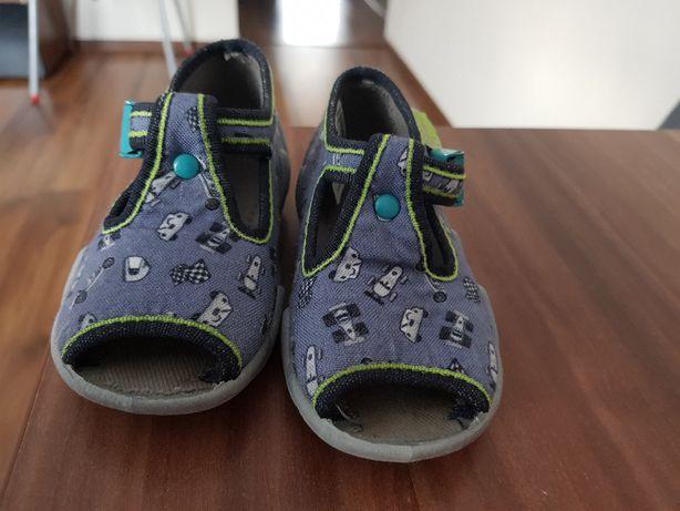 Kapcie sandały Befado, wkładka 11cm