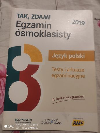 Sprzedam arkusz egzaminacyjny do języka polskiego