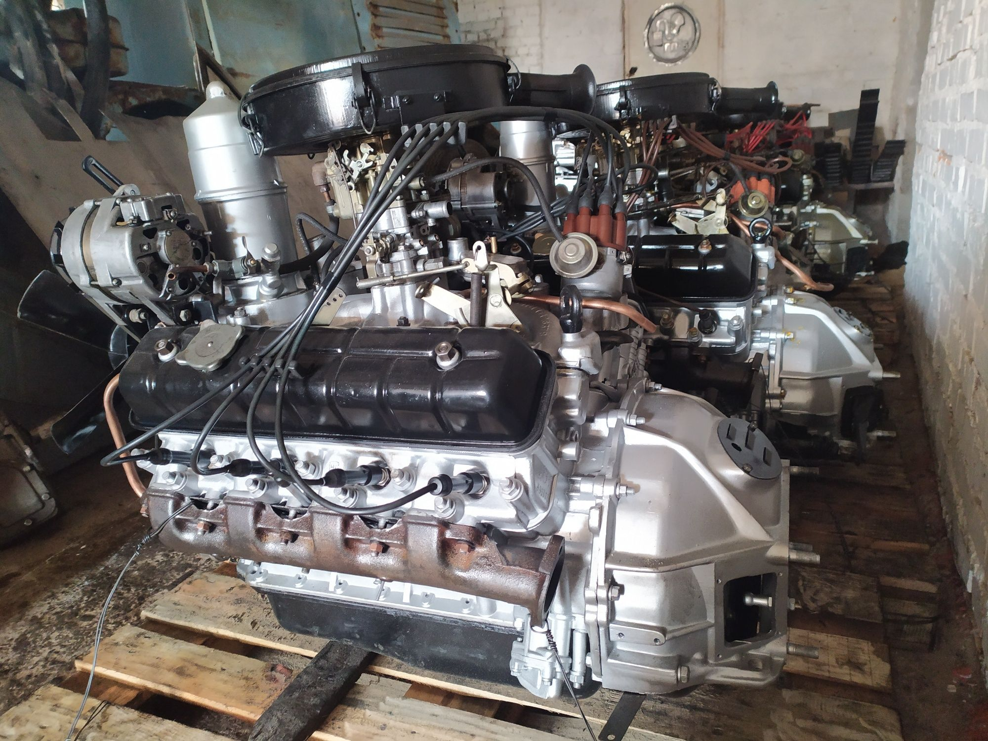 Двигатель мотор ЗМЗ 511 513 523 Газ 53 3307 66 Паз б/у/капремонт