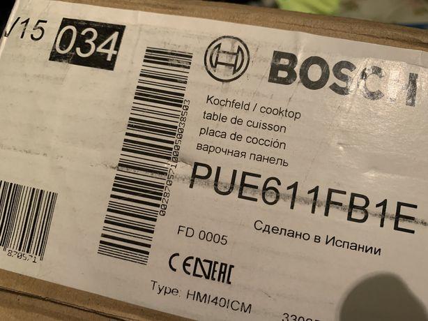 Placa de indução eletronica bosch pue611fb1e. Nova.