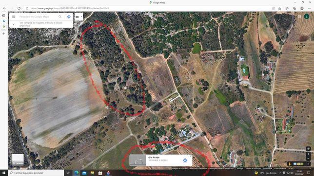 Carrasqueira/Quinta do Anjo  Terreno 9625m2 para construir 240m2