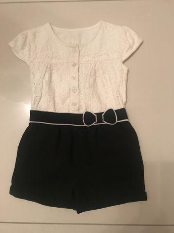 Детское нарядное платье-шорты, ромпер на девочку 3-4 года 98-104 рост