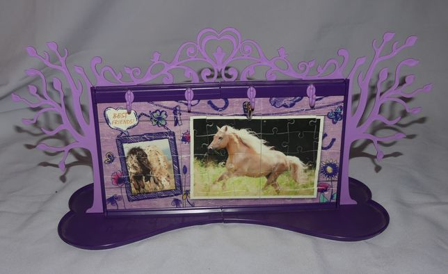 Puzzle 3d Ravensburger organizer na biurko do biżuterii konie