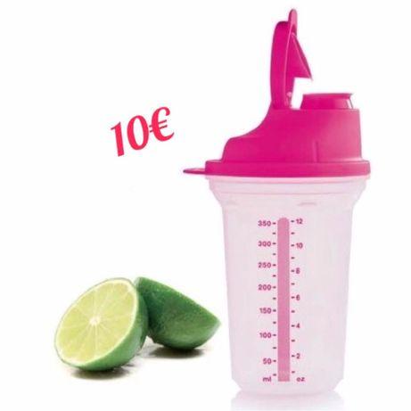 Shaker Rosa Tupperware - Super Preço