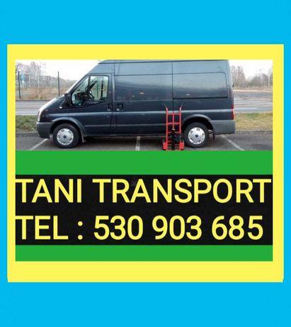 przeprowadzki tani transport bagażówka przewóz mebli taxi bagażowe bus
