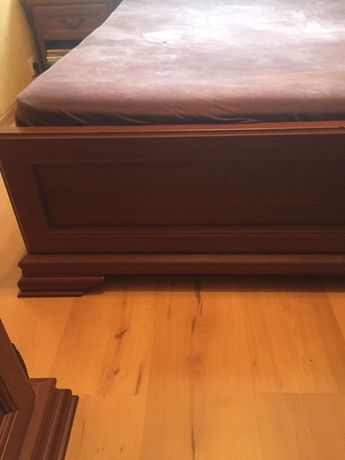 Sypialnia meble: łóżko małżeńskie + gratis szafka nocna