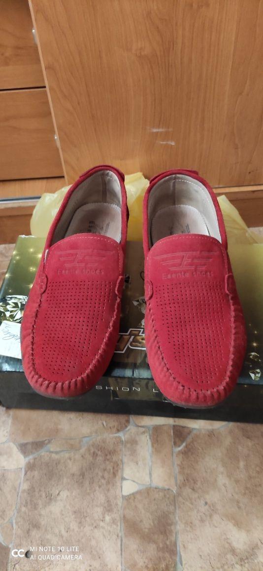 Туфли.     замшевые
