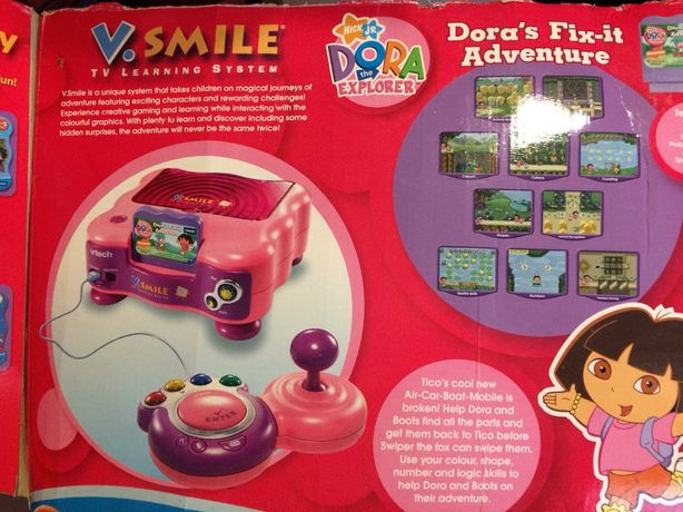 Konsola gra telewizyjna Vtech V-smile Dora, okazja