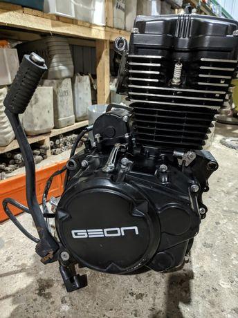 Мотор на мотоцикл Geon Pantera 150 cc, оригинальные запчасти