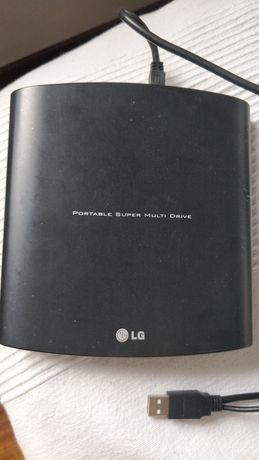 Przenośne nośnik DVD firmy LG