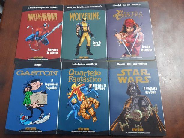 4 comics da Série Ouro