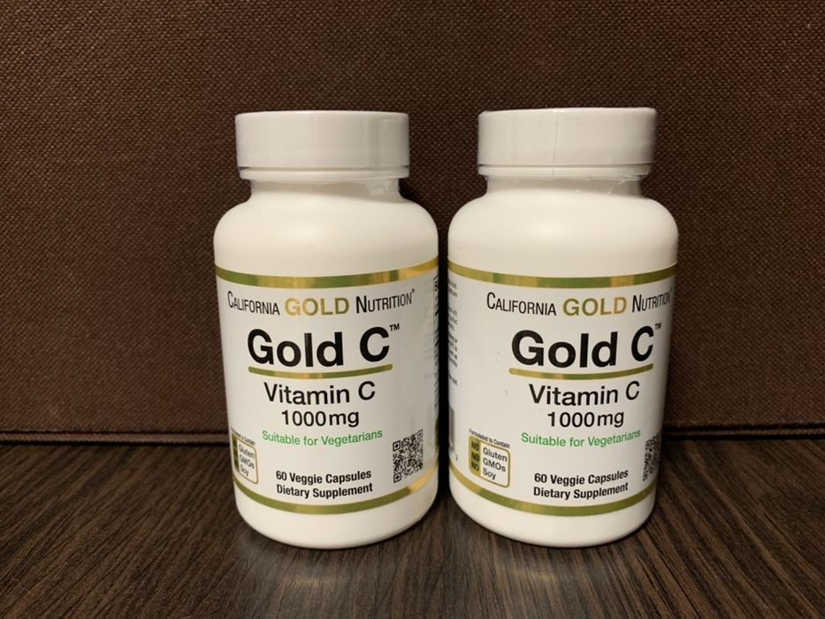 California Gold Nutrition Витамин С 1000 мг 60 капсул. Киев - изображение 1