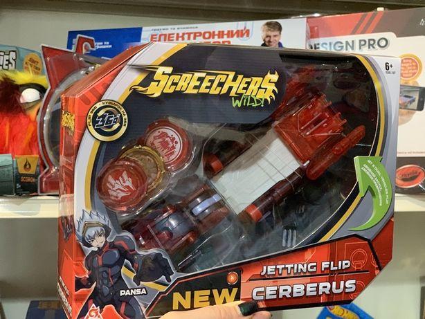 Машинка-трансформер Screechers wild S2 L2 Цербер