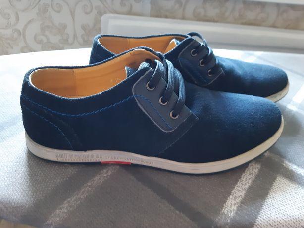 Туфли замшевые р.39