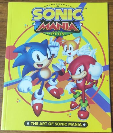 Art Work Sonic Mania and City Guide San Andreas