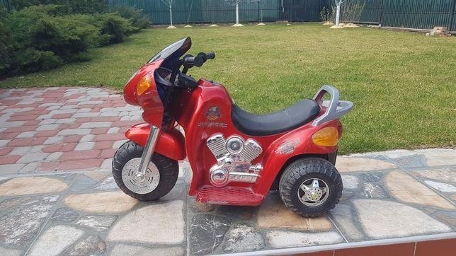 Мотоцикл детский электромобиль
