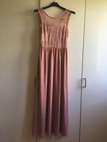 Elegancka długa sukienka rozmiar S