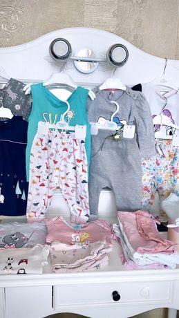 Пакет вещей одежды на девочку 2-3 года в хорошем состоянии