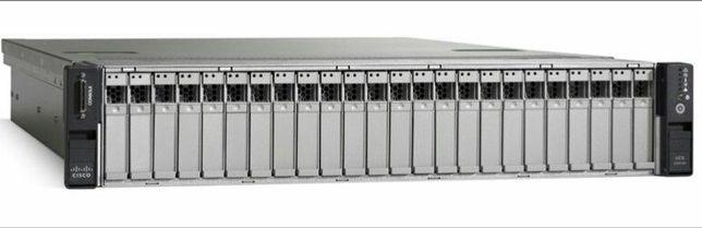 Сервер Cisco C240 M3 20/40 ядер 2.8-3.6ГГц] 2шт E5-2680V2 96GB RAM