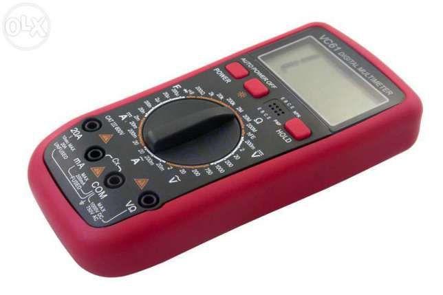 Цифровой мультиметр тестер вольтметр VC61, VC61A с температурой