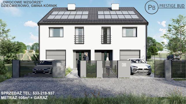 Dom wraz z garażem Kórnik/Dziećmierowo 122,5 m2