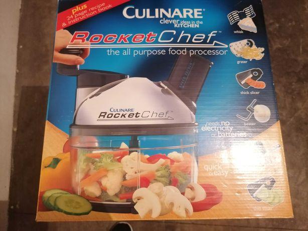 Rocket chef sem ser elétrico para diversos pratos de culinária.