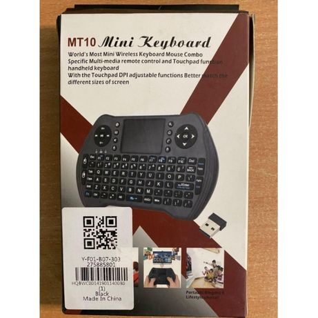 Клавиатура беспроводная MT10 mini keyboard