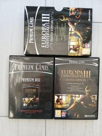 Gra Europa Universalis 3, złota edycja.