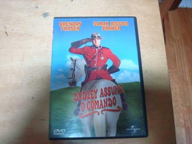 dvd original dudley assume o comando raro
