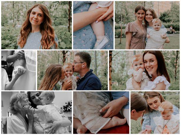 Фотосесія/фотограф / фотосессия / дитячі дні народження /хрещення Київ