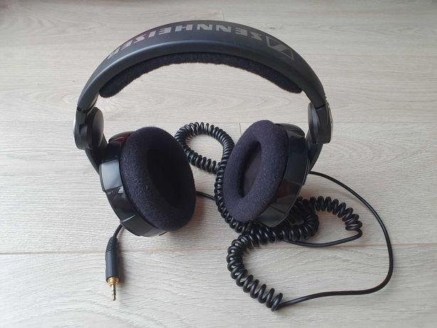 Słuchawki nauszne SENNHEISER HD 215, obrotowy nausznik, minijack
